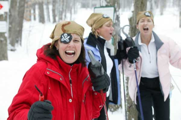 Womens Winter Tour in Traverse City - XC skiing