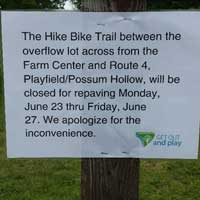 Part of Kensington Metropark bike path closed June 23-27