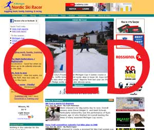The NEW NordicSkiRacer: Mobile friendly!