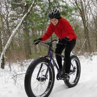 Update on fat bikes on the Vasa Trail