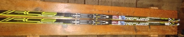 2012 Salomon Equipe 10 Skate Soft Ground Skis