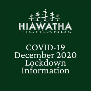Hiawatha Highlands Lodge closes for at least two weeks