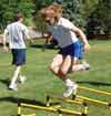 Track Hurdle Drills for Surviving Slippery Snow Conditions
