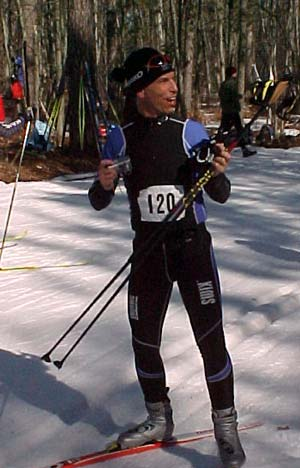 Cross country ski race - the Michigan Cup Relays