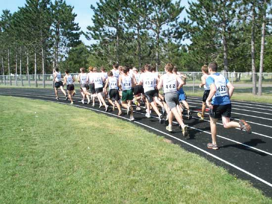 3,000 meter fitness test