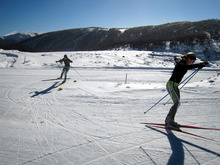 Cross country skiing down-under