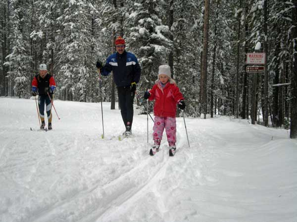 Yellowstone Ski Festival - cross country skiing