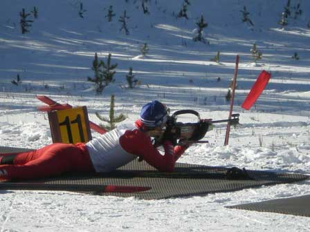 Yellowstone Ski Festival Novice Biathlon Clinic and Race