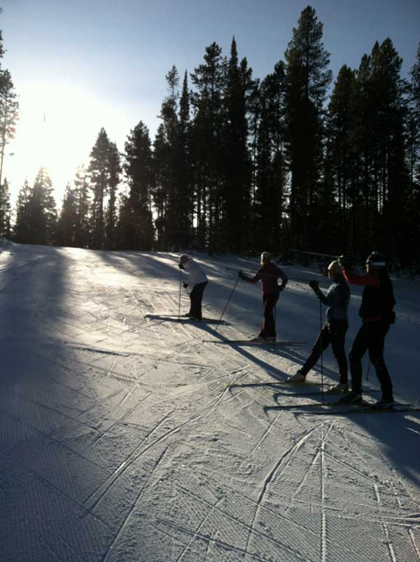 Yellowstone Ski Festival cross country skiing