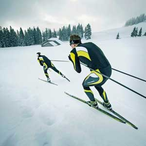 Reserve Fischer demo skis and boots at Yellowstone Ski Festival