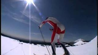 Learning how to v2 or one-skate by xcskzone (cross country skiing)