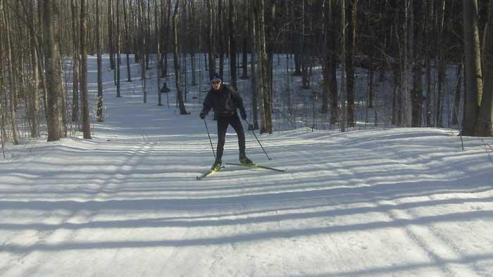 Still skiing at Nubs Nob! (Photo: John Goble)