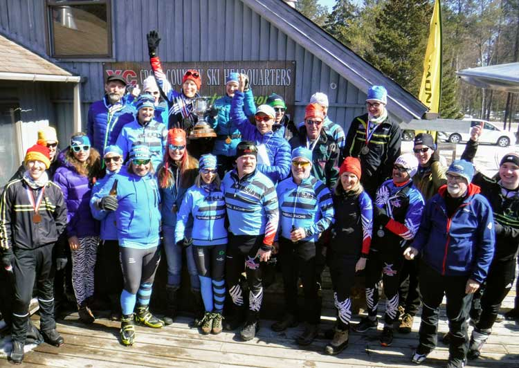 The Vasa Ski Club racked up enough points to win the 2018 Michigan Cup. Congratulations, Vasa Ski Club!