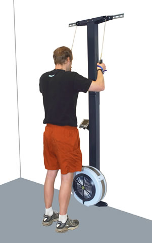 Concept2 SkiErg, Wall Mount