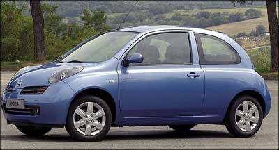 Rented Nissan Micra