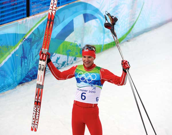 The new Atomic cross country ski flex tester helped Billy Demong win Gold at the Olympics