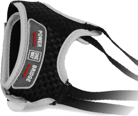 Oneway DS10 cross country ski pole strap with rabbit strap