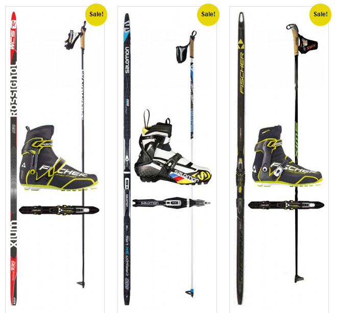 2015 Annual Labor Day sales at the Cross Country Ski Headquarters