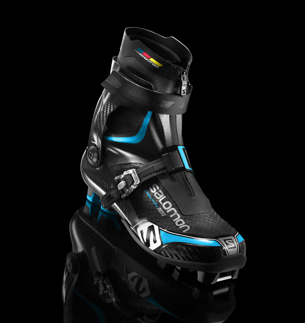 Salomon Carbon Skate Lab ski boot