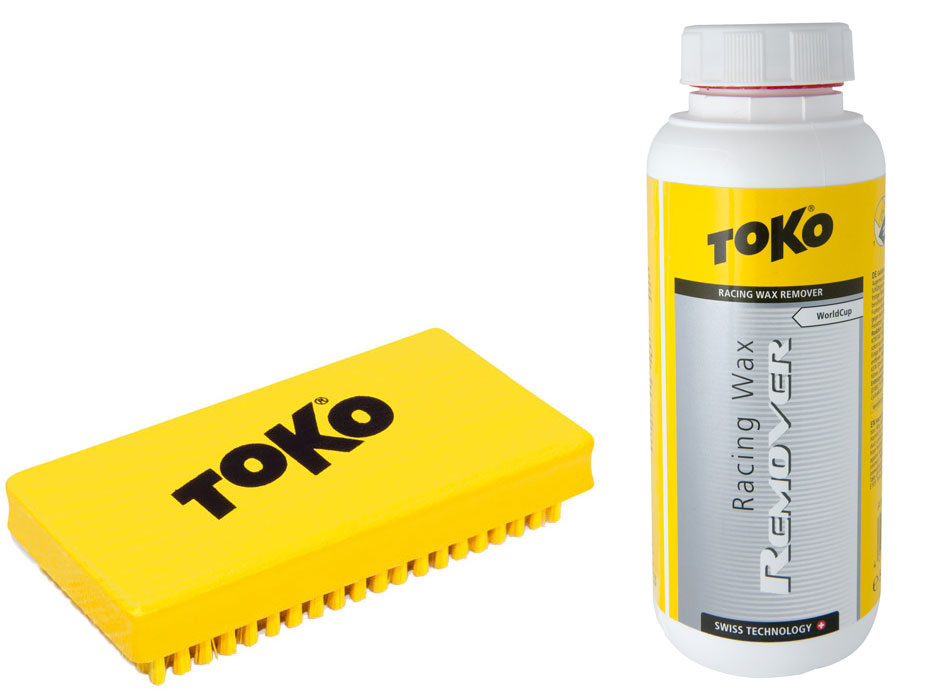 Toko Racing Wax Remover and Toko Polishing Brush Liquid Paraffin