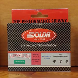 Solda introduces non-fluoro ski waxes