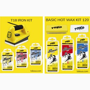 Toko waxing and tuning kits on sales
