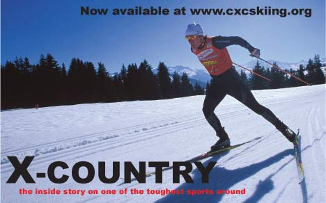 X-Country cross country ski DVD