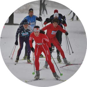 Frosty Freestyle 15K cross country ski, for skiers wanting a longer race or miximum Michigan Cup points