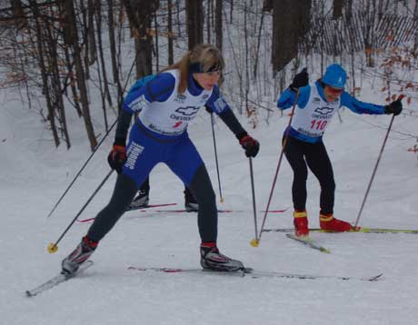 Nubs Nob 9km Freestyle cross country ski race