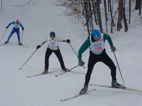 Nubs Nob Freestyle cross country ski race