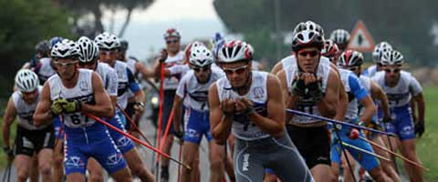 Italy and Russia dominate 2009 Roller Skiing Worlds