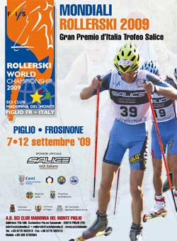 2009 FIS Rollerski World Championships in Piglio, Italy