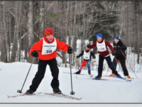 Junior Noque 3K cross country ski race