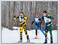 Junior Noque 5K cross country ski race