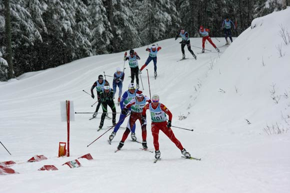 Women's 30K at the US Cross Country Ski Championships