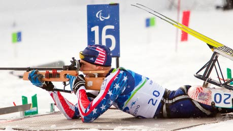 Andy Soule get forth in Paralympics Biathlon