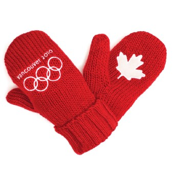 Vancouver 2010 Red Mittens