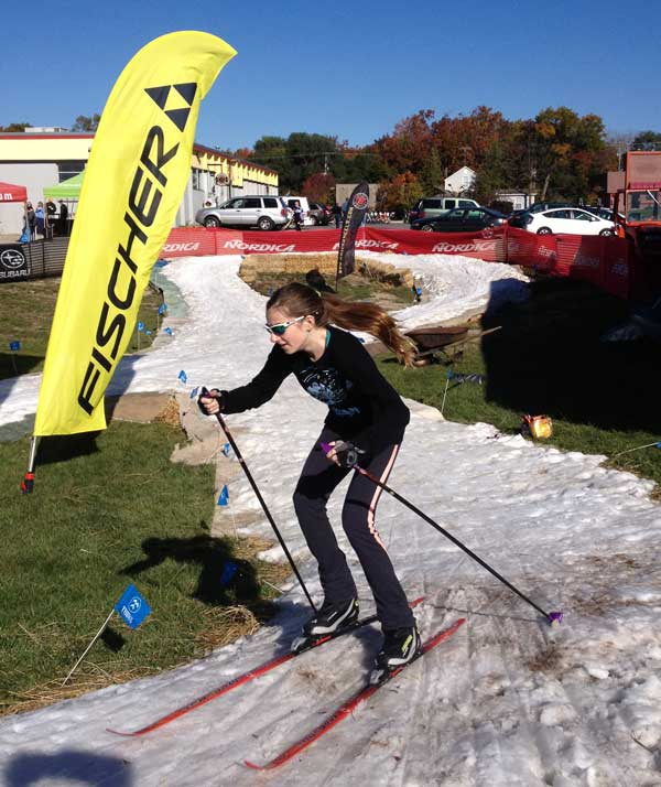 Nordic Ski Fest cross country skier
