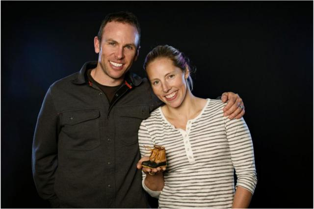 Kikkan Randall and her husband Jeff Ellis announced they are pregnant. (USSA)
