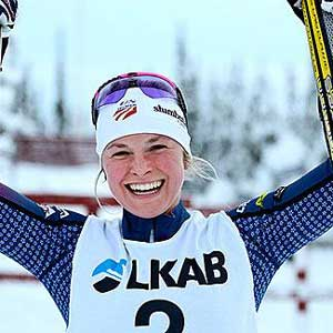 Diggins wins 1.2k classic in Gaellivare