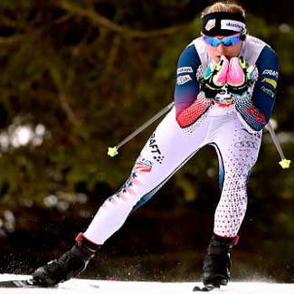 Diggins gets 11th in Davos 15km freestyle