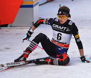 Liz Stephan 5th overall in Tour de Ski after 4th in hill climb