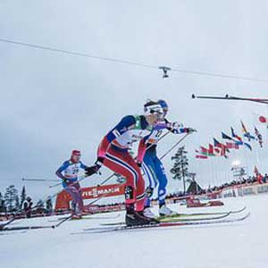 Bjornsen14th in Ruka Triple mini tour