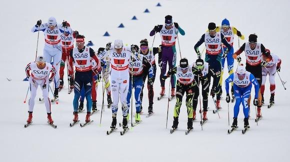 The opening leg of the 4x10K relay at the FIS Nordic World Ski Championships. (Getty Images-Mike Hewitt)