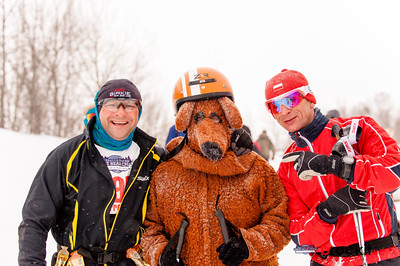 Volunteers for Great Bear Chase cross country ski race