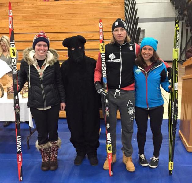 Women winners of Great Bear Chase 2016