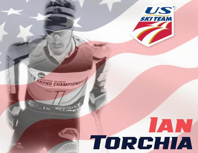 Northern Michigan's Ian Torchia was nominated for the 2016-17 U.S. Cross Country Ski Team,