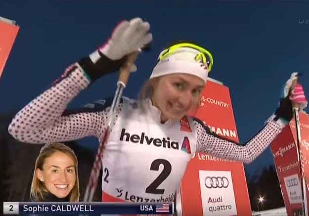 VIDEO: Tour de Ski Stage 1, Women's final sprint