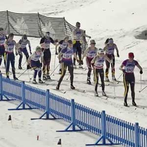 2016 UM Nordic Skiing: The Video!