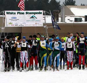 $40 for 40th White Pine Stampede. $20 for WPS 1 skiers